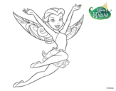 Dibujo de Hadas Disney - Rosetta para colorear