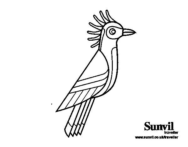 Dibujo de Hoacín para Colorear