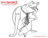 Dibujo de Hombre Lobo Wayne para colorear