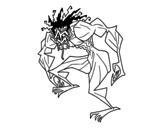 Dibujo de Hombre trol
