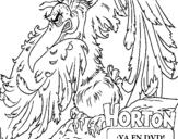 Dibujo de Horton - Vlad para colorear