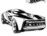 Dibujo de Hot Wheels 12 para colorear