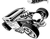 Dibujo de Hot Wheels 8 para colorear