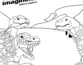 Dibujo de Imaginext 17 para colorear
