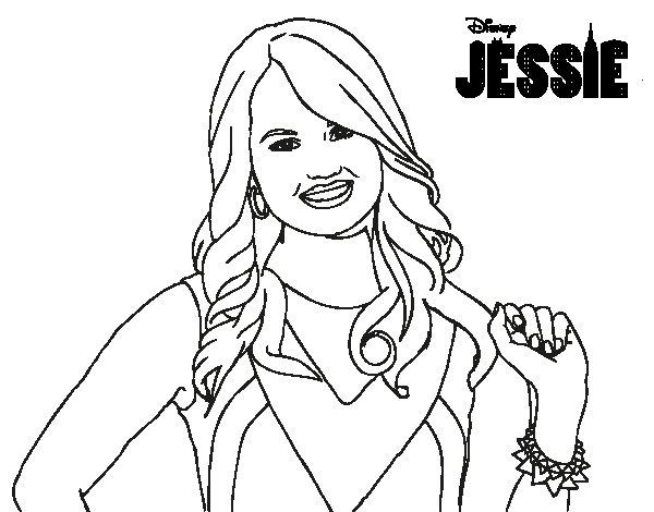 Dibujo de Jessie Prescott para Colorear - Dibujos.net