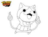 Dibujo de Jibanyan de Yo-Kay Watch para colorear