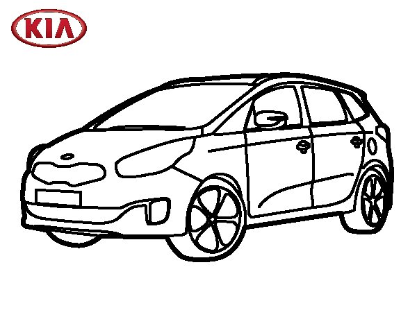 mobile  kia optima coloring pages sketch coloring page
