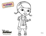 Dibujo de La doctora juguetes para colorear