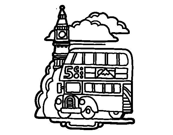 Dibujo de Londres para Colorear