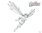 Dibujo de Los Vengadores - Avispa