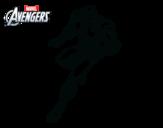Dibujo de Los Vengadores - Iron Man