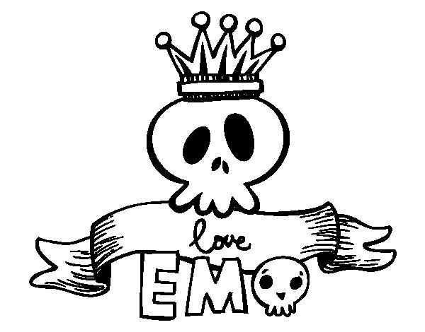 emo dibujo:
