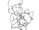 Dibujo de Madre