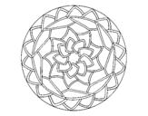 Dibujo de Mandala 1 para colorear