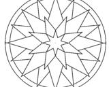 Dibujo de Mandala 28 para colorear