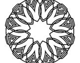 Dibujo de Mandala 37 para colorear