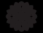 Dibujo de Mandala decorativa para colorear