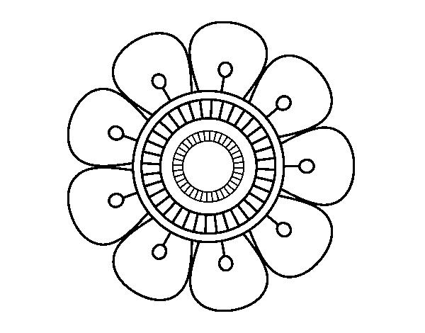 Flores hippies para pintar - Imagui
