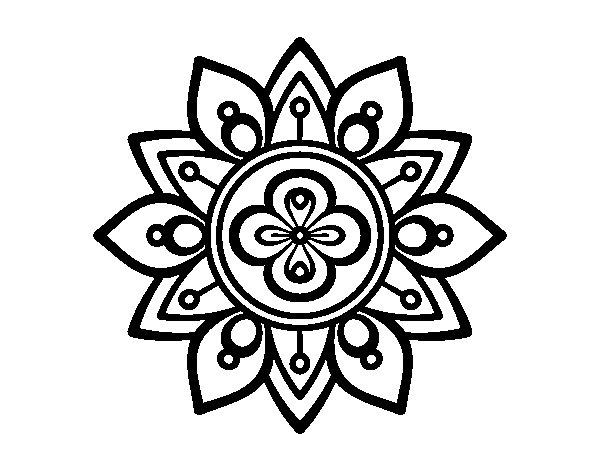 Colorear Mandalas Mandalas Dibujos Para Colorear Mandalas: Mandalas Para Pintar Con Flor De Loto