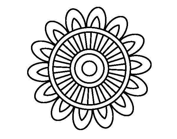 Cool Mandala Para Colorear Cool Mandalas Para Colorear De: Mandalas Sin Pintar. Stunning Imagenes De Mandalas Para