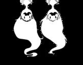 Dibujo de Marceline de Hora de aventuras