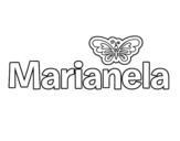 Dibujo de Marianela para colorear