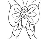 Dibujo de Mariposa 15 para colorear