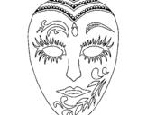 Dibujo de Máscara 1