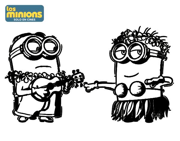 Dibujos Para Colorear De Los Minions Para Imprimir: ¡NUEVOS VASOS NOCILLA MINIONS!