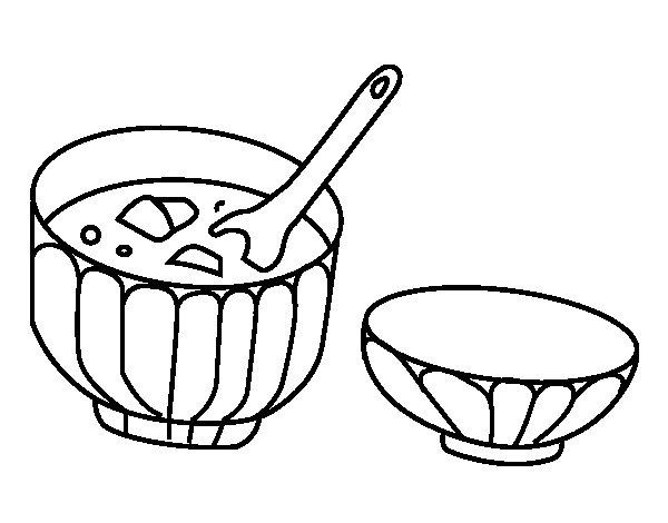 Dibujo de Misoshiru para Colorear - Dibujos.net