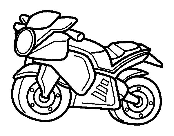 Dibujos Para Colorear Motos Cross Imagui