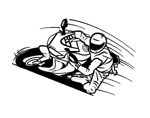 Colorear moto trial imagui - Dessin moto trial ...