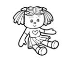 Dibujo de Muñeca de juguete