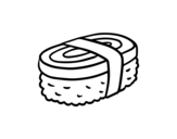 Dibujo de Niguiri de tortilla