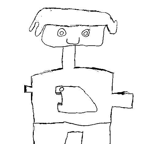Dibujo de ni o camiseta para colorear - Pintar camisetas ninos ...