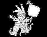 Dibujo de Niño de carnaval
