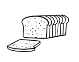 Dibujo de Pan de molde