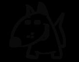 Dibujo de Perrito V para colorear