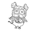 Dibujo de Perro Minion