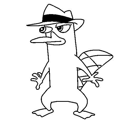 Dibujo de Perry para Colorear