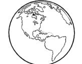 Dibujo de Planeta Tierra 1