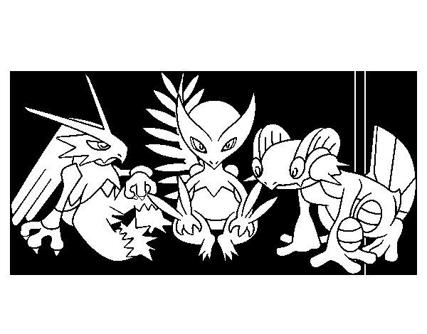 150 Dibujos De Pokemon Para Colorear: Dibujo De Pokémons Para Colorear