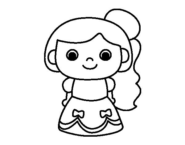 Princesa para dibujar facil - Imagui