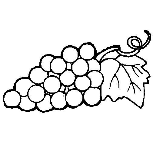 Dibujo de Racimo para Colorear