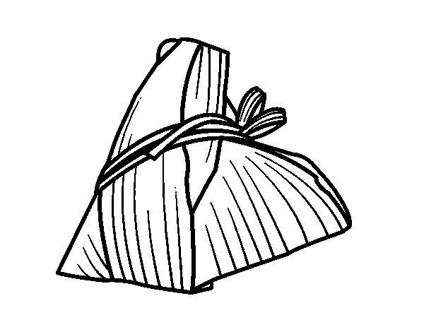 Dibujo de Rollito taiwanés para Colorear