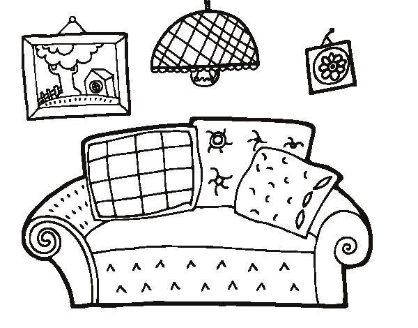 Cosas de una sala para pintar imagui for Sala de estar png