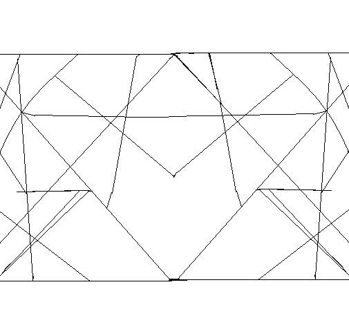 Dibujo de Simetría para Colorear