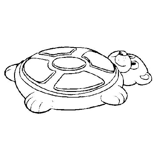 Dibujo de Simon forma de oso para Colorear