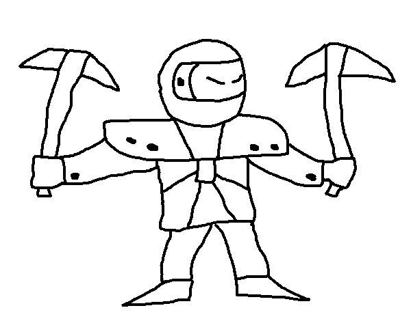 Dibujo de Skylanders Imaginators de Jona para Colorear