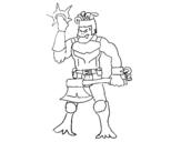 Dibujo de Skylanders Imaginators de Rorro para colorear